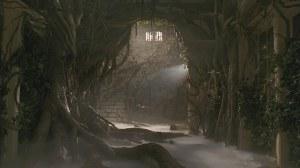 Rumah di film Jumanji yang berubah jadi gua gara-gara kutukan