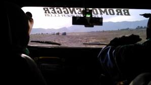 Off road menuju kawah